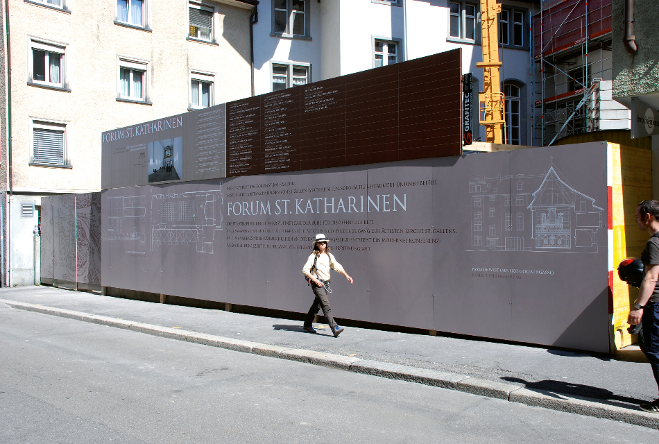 St.Katharinen construction site cover