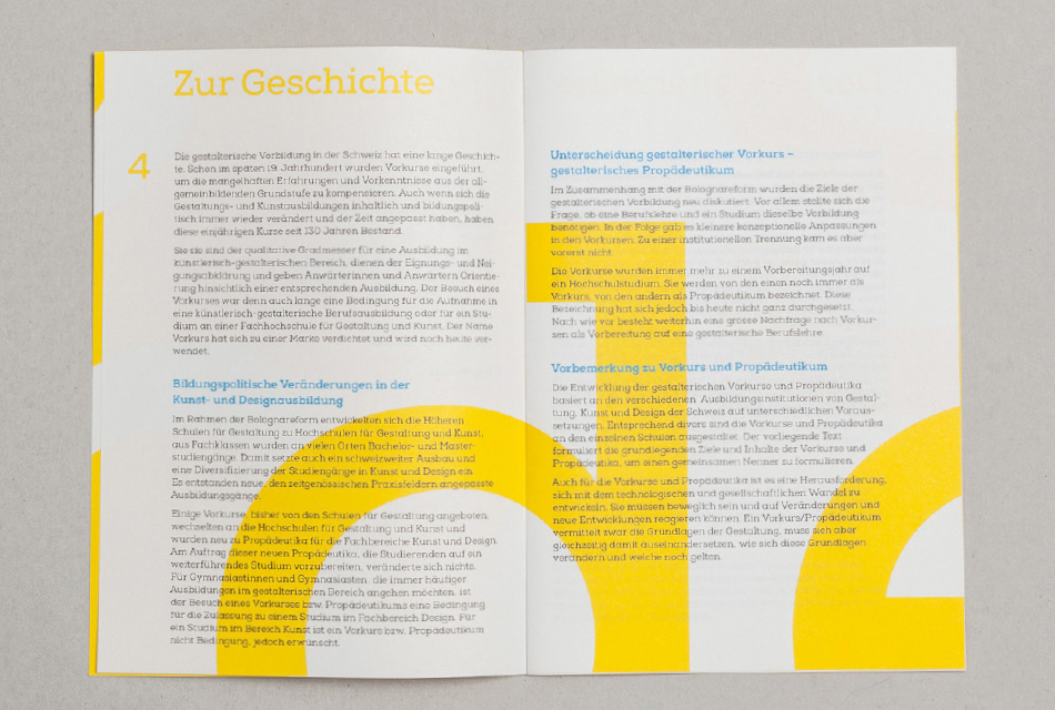 BROCHURE SWISS DESIGN SCHOOLS